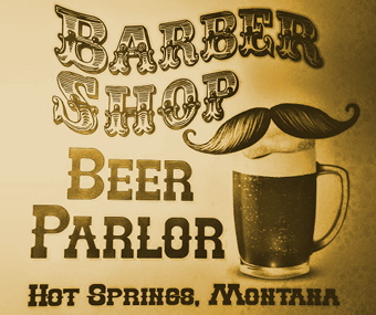 Barber Shop Beer Parlor logo