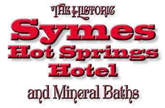 Symes Hot Springs Hotel & Mineral Baths logo